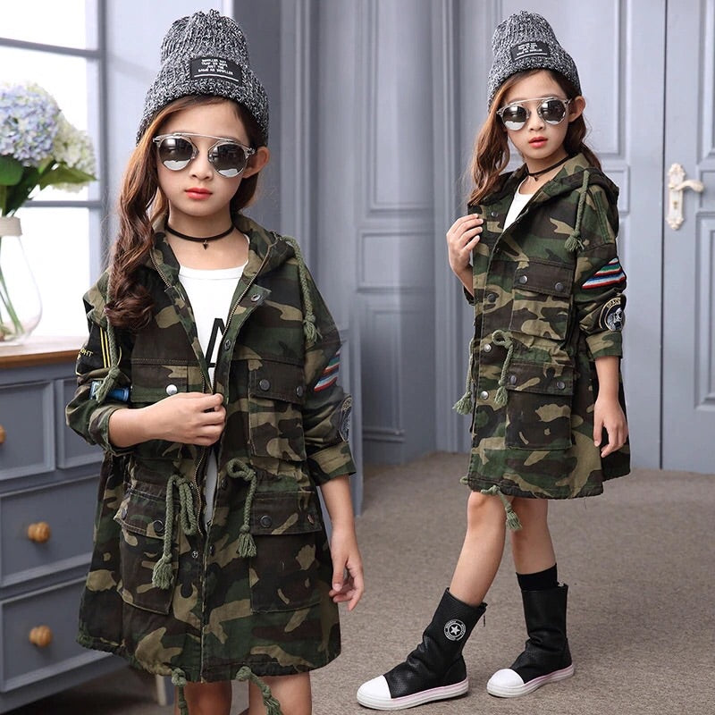 Junior camo jacket