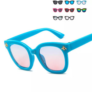 Kids mini bee sunglasses