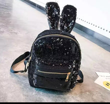 Bunny ears sequin Backpack