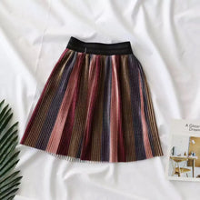 Girls stripes skirt