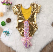 Unicorn Silver / Gold romper