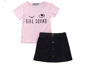 Girls squad set