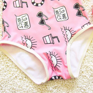 Kids Bodysuit Swimsuit