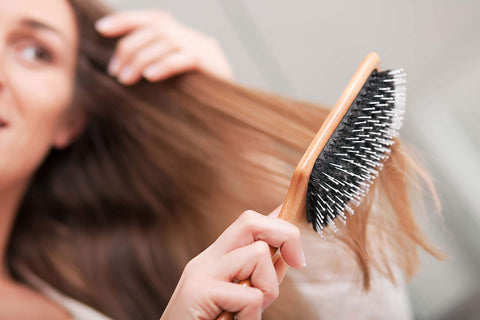Avoid Aggressive Hair Brushing