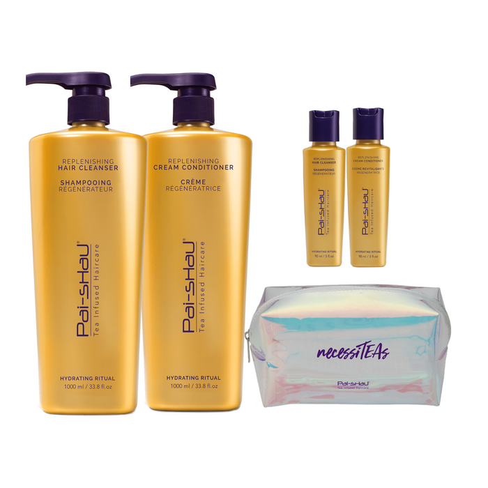 Deluxe Replenishing Liter Gift Set
