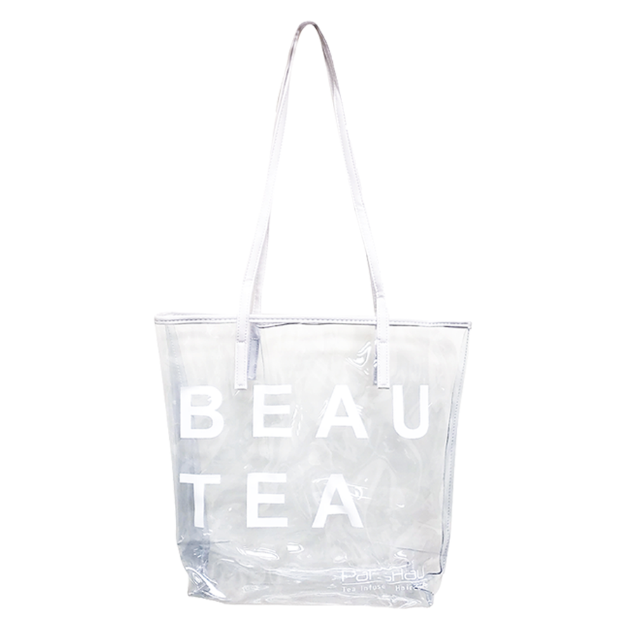 Clear PVC Tote Bag for Women
