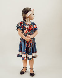 Willow Flutter Sleeve Twirl Dress