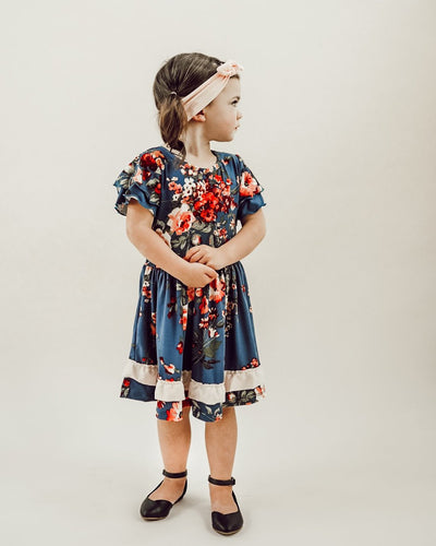 Willow Double Ruffle Dress