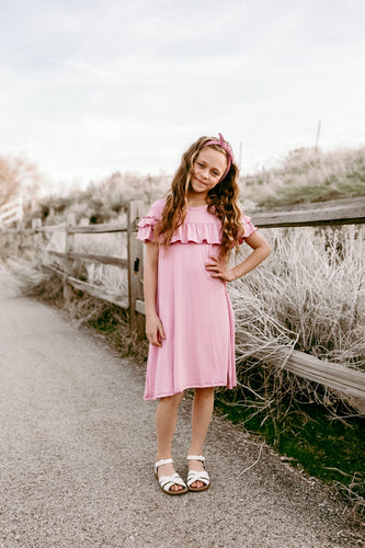 Lavender Pink Posey Dress