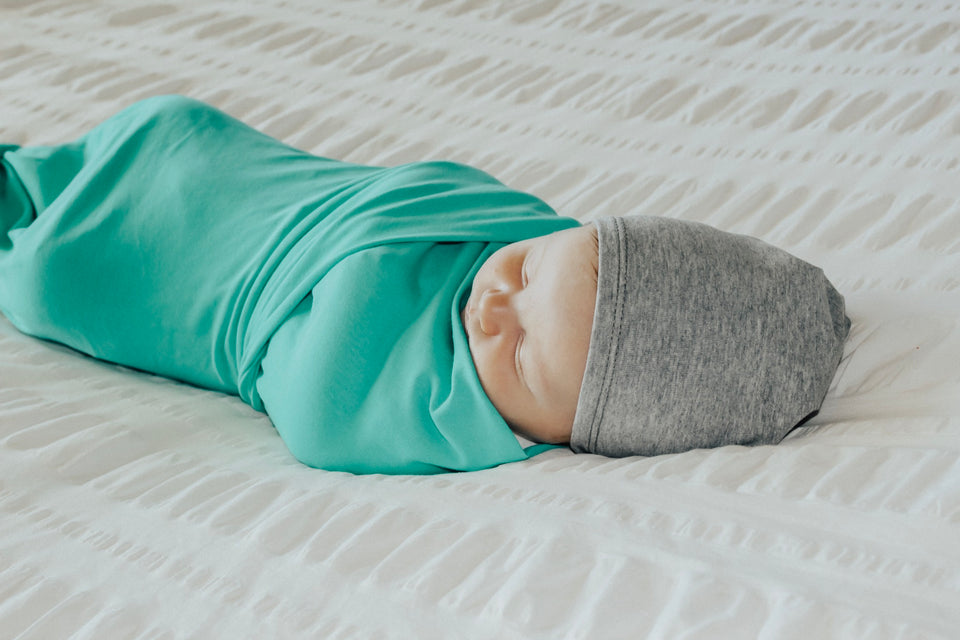 Mint Swaddle Blanket