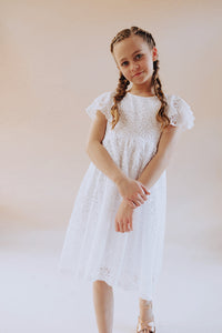 Sarah White Lace dress