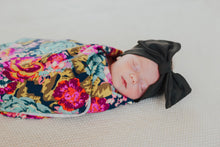 Load image into Gallery viewer, Boho Floral Swaddle Blanket