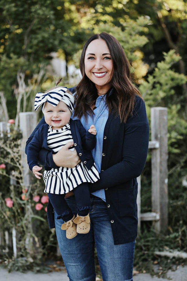 Navy Women's Cardigan