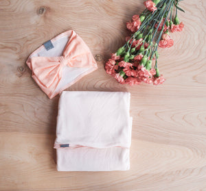 Blush Swaddle Blanket