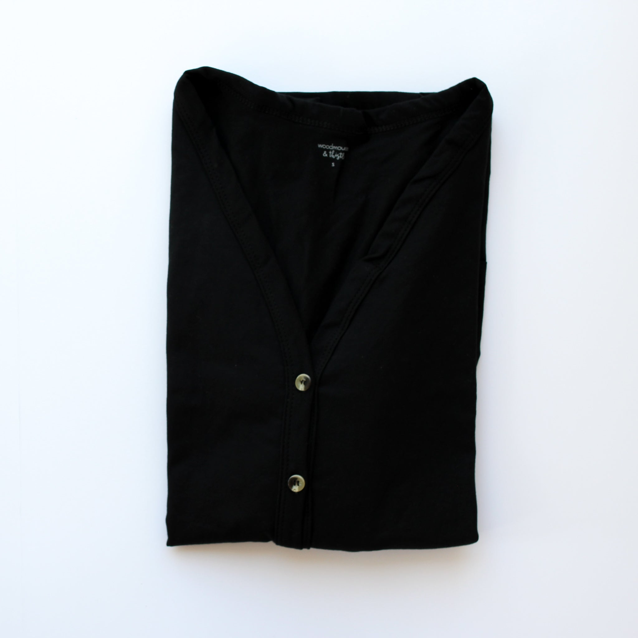 Black Women's Cardigan
