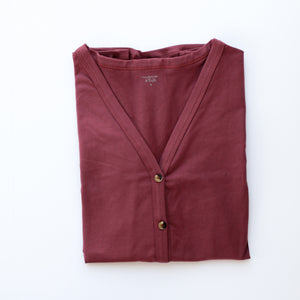 Mauve Women's Cardigan