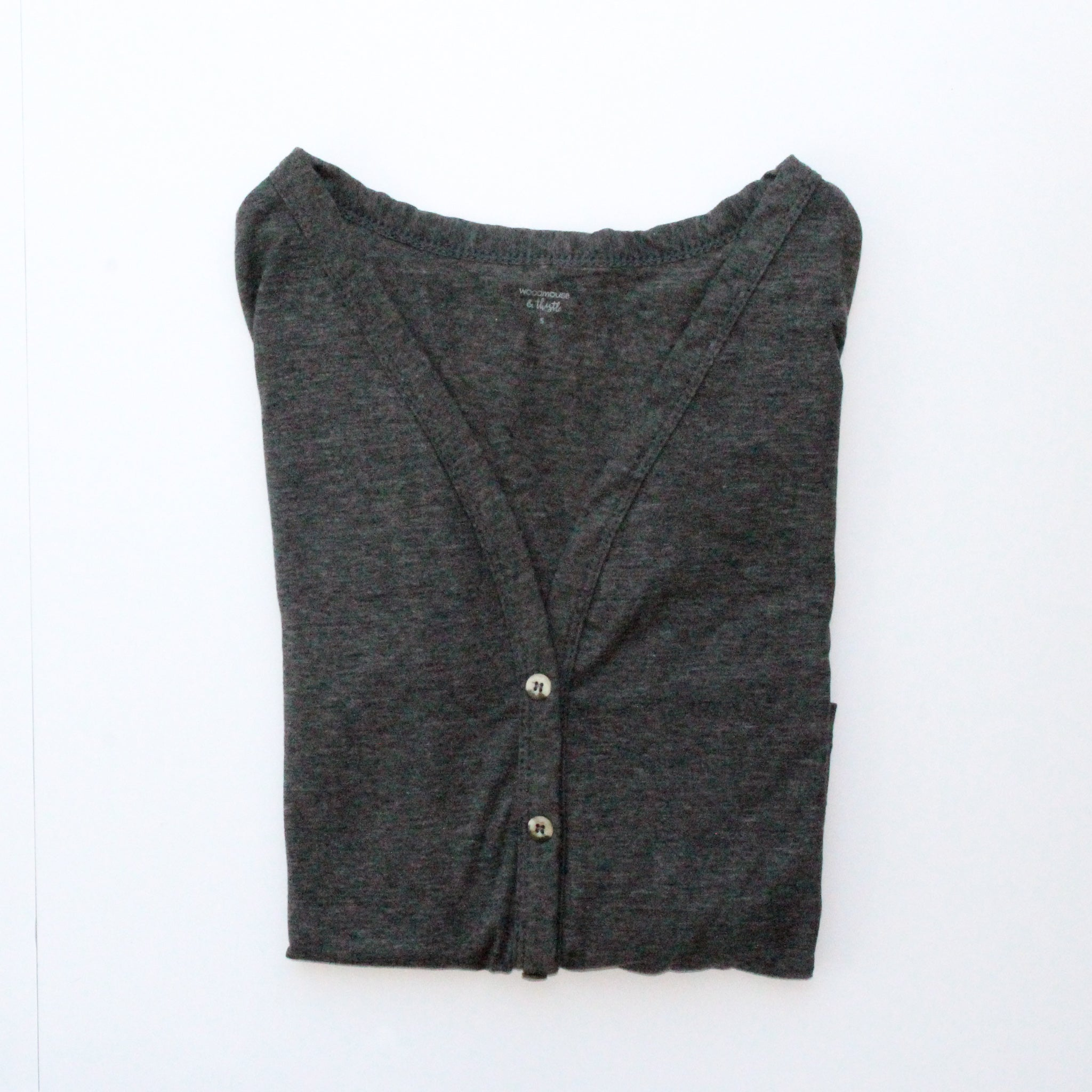 Heathered Coal Women's Cardigan