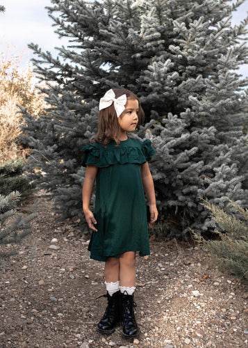 Posey Hunter Green Dress
