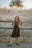 Amelia Black Lace Dress