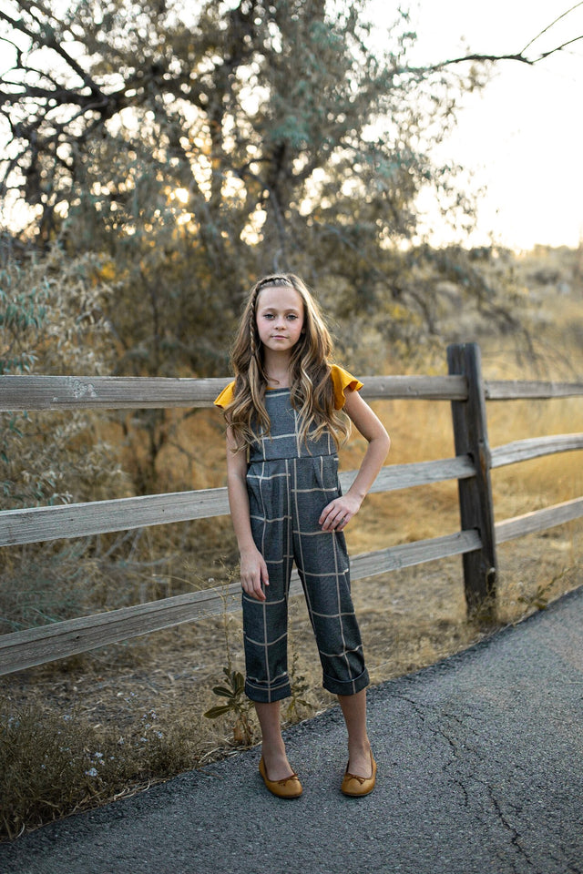 Juniper Plaid Jumpsuit