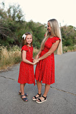 Caspian Red Dress