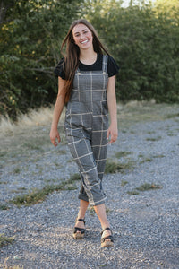 Juniper Plaid Women's Jumpsuit