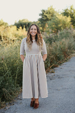 Avery Stripe Women's Dress