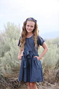 Mariner Denim Chambray Dress