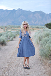 Haven Blue Women's Dress
