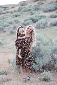 Leopard Print Women's Dress