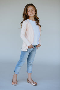 Blush Cardigan (sizing up to 13/14)