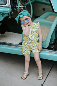 Lemon Goldie Romper