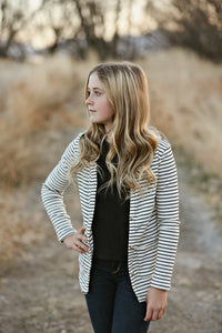 Striped Cardigan (available up to size 13/14)