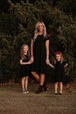 Piper Women's Dress in Black