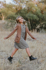Haven Plaid Dress