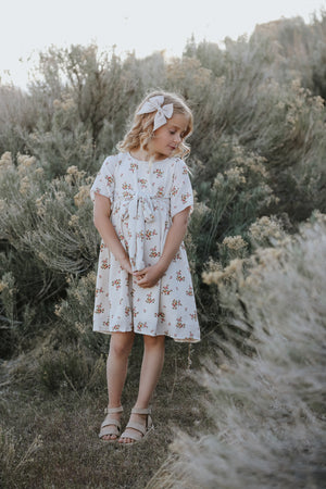 Etta Cream Floral Dress