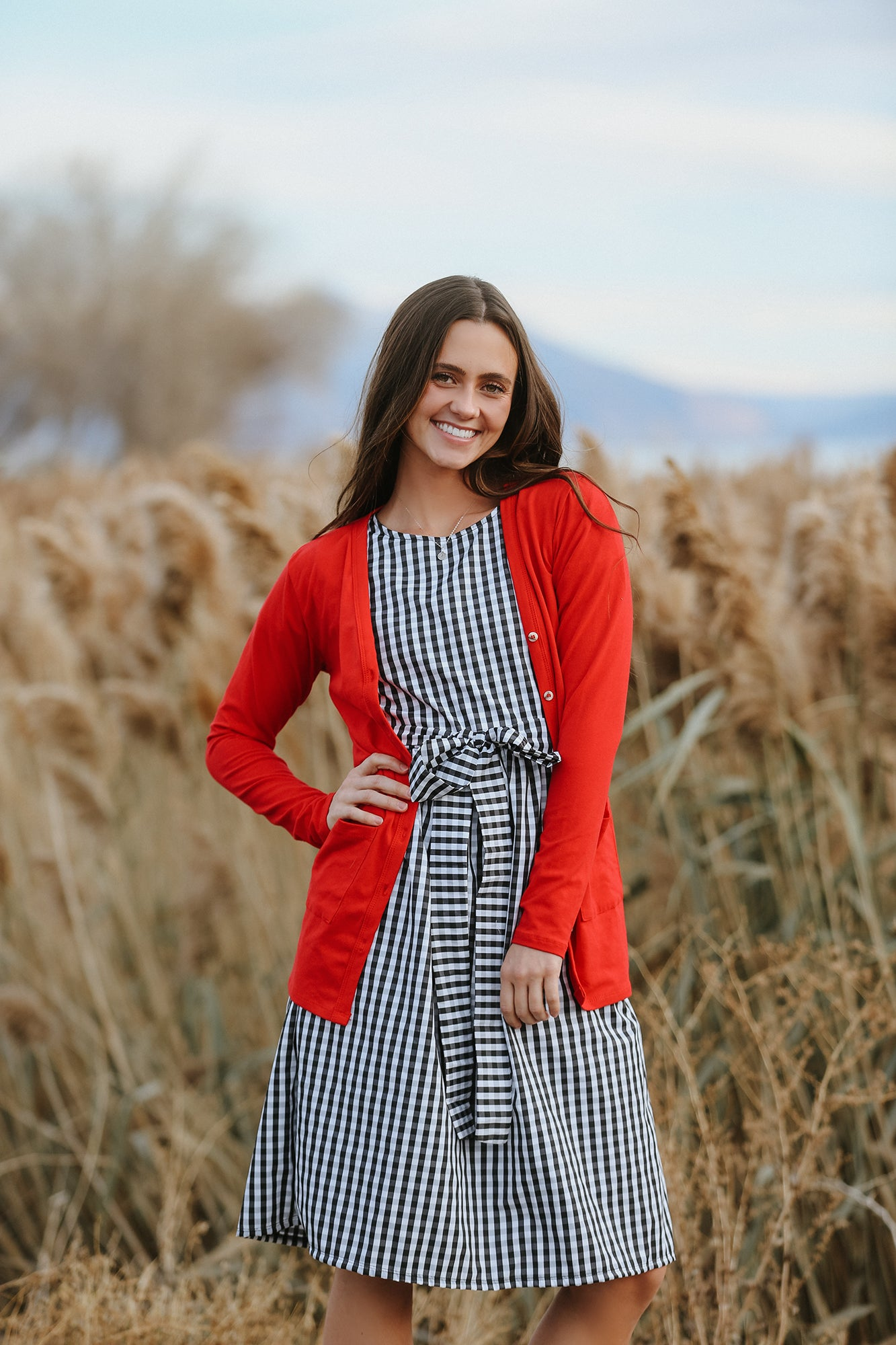 Red Women's Cardigans