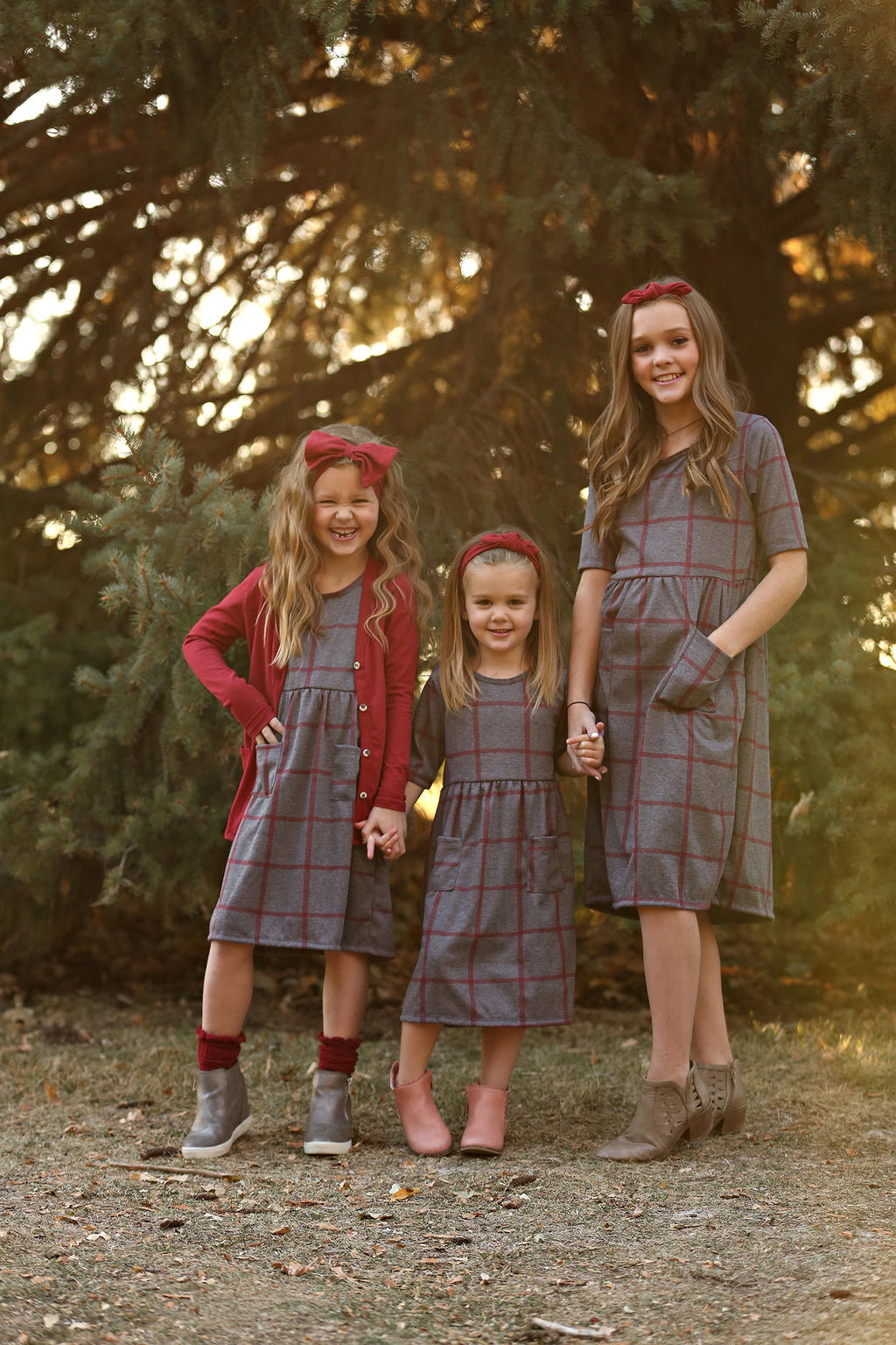 Scout Ruby Grid Dress