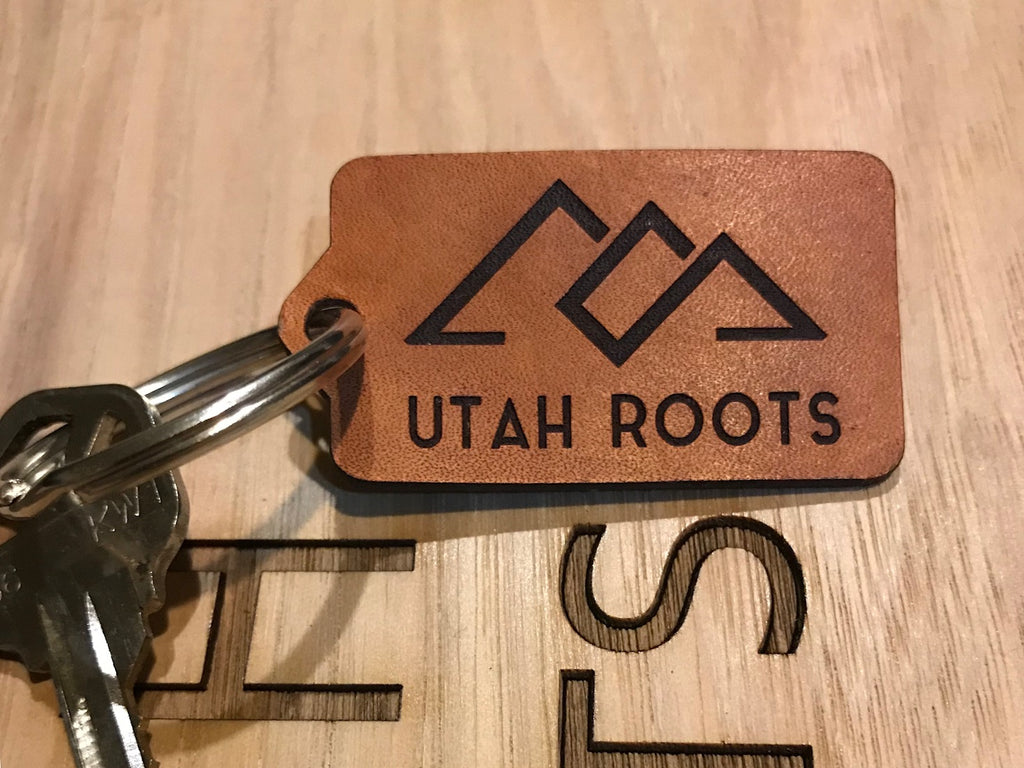 Utah Roots Keychain
