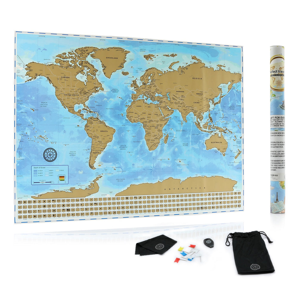The ultimate scratch off world map poster bundle with us states the ultimate scratch off world map poster bundle with us states country flags scratching gumiabroncs