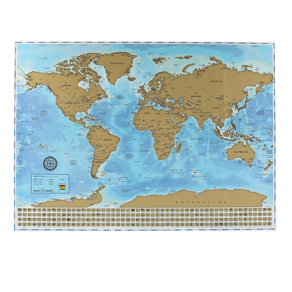 The ultimate scratch off world map poster bundle with us states the ultimate scratch off world map poster bundle with us states country flags scratching gumiabroncs Image collections