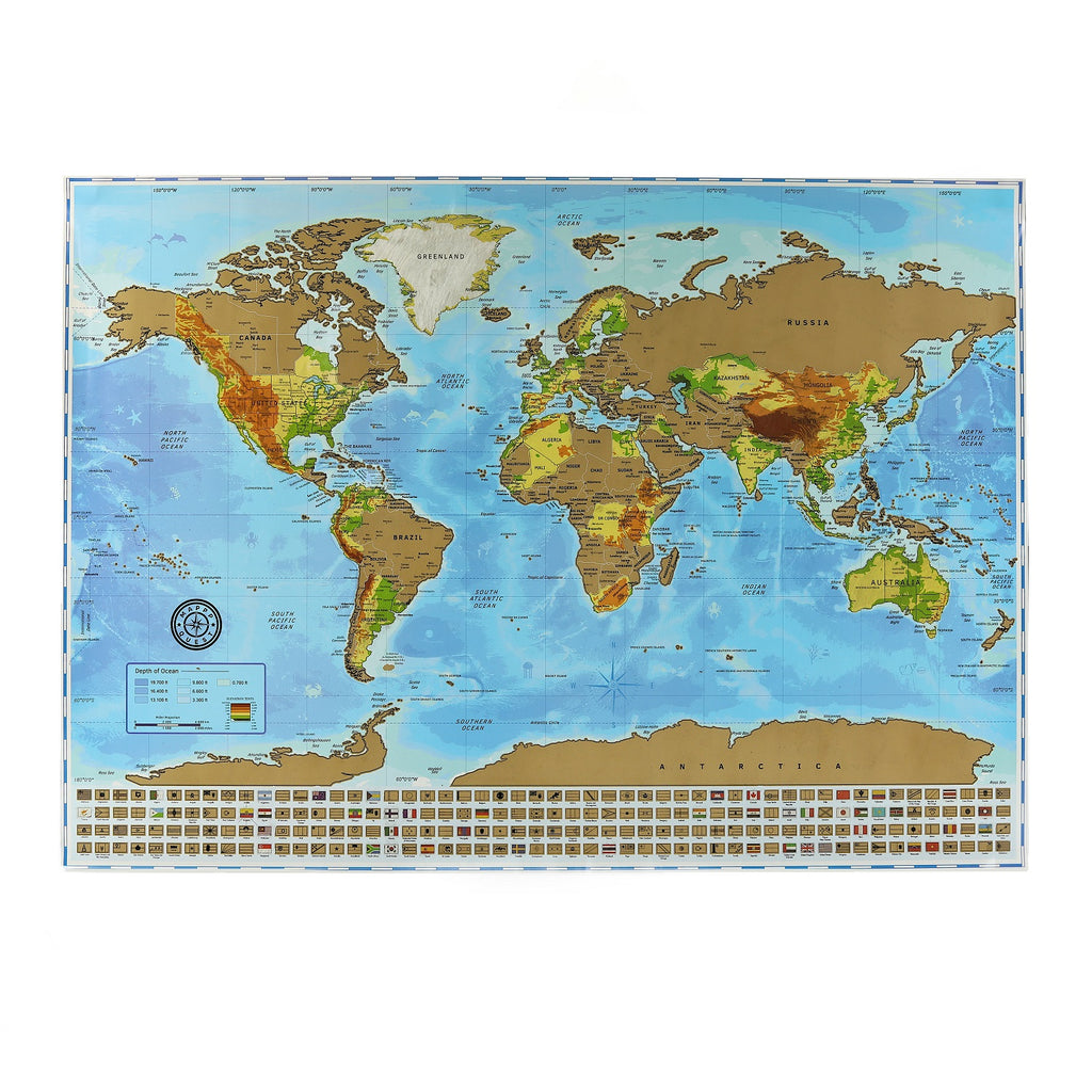The ultimate scratch off world map poster bundle with us states the ultimate scratch off world map poster bundle with us states country flags scratching gumiabroncs Choice Image