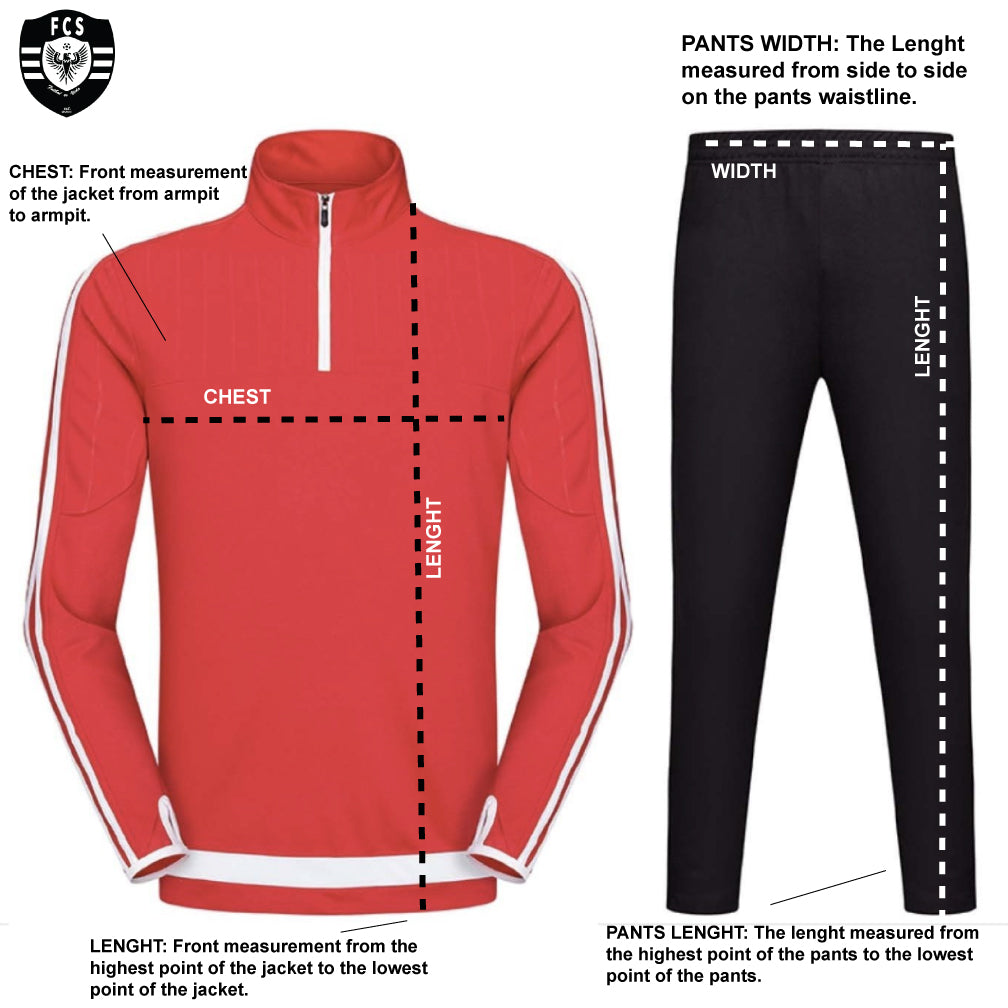 tracksuit graphic guide