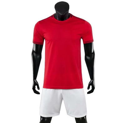 Red Devils Ss Adult Soccer Uniforms