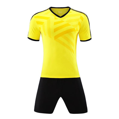 Yellow 114 Adult Soccer Uniforms