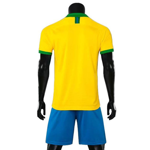 Rio Yellow Ss Adult Soccer Uniforms