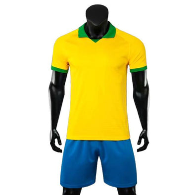 Rio Yellow Ss Youth Soccer Uniforms