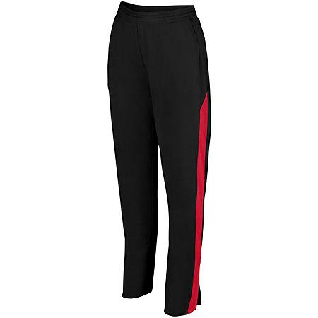 Ladies Medalist Pant 2.0 Black/red Softball
