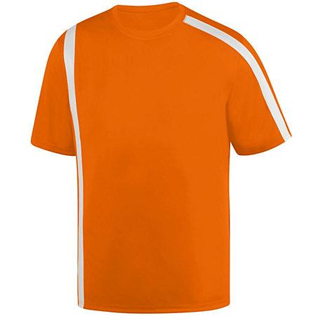 Youth Attacking Third Jersey Power Orange/white Single Soccer & Shorts