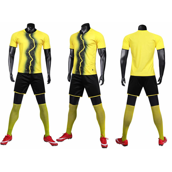 Yellow 161 Adult Soccer Uniforms